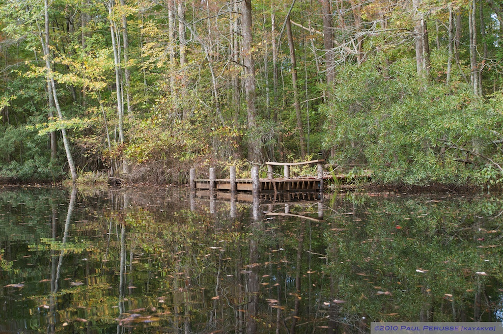 New Dock on the creek
